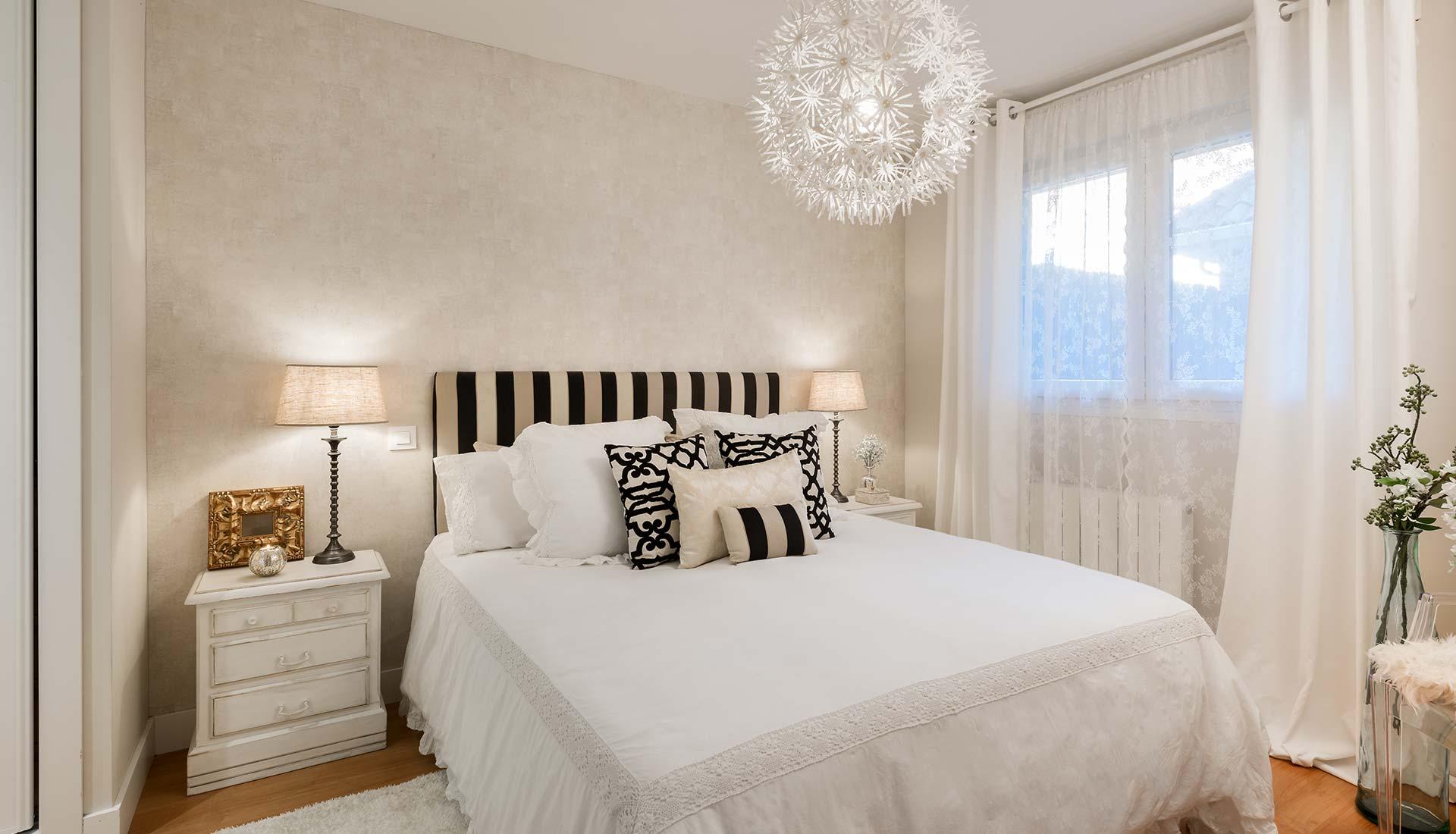 decoracion de interiores cama