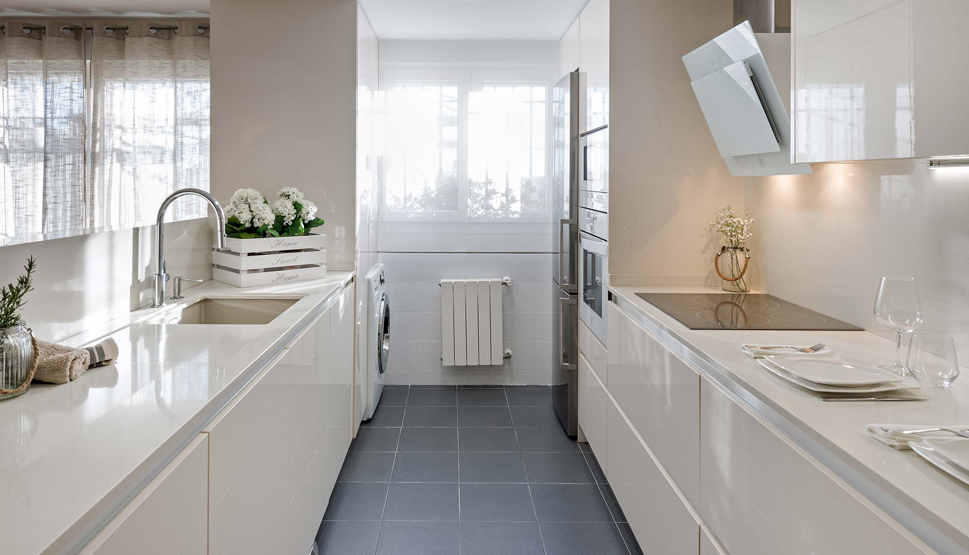 decoracion de interiores cocina amplia