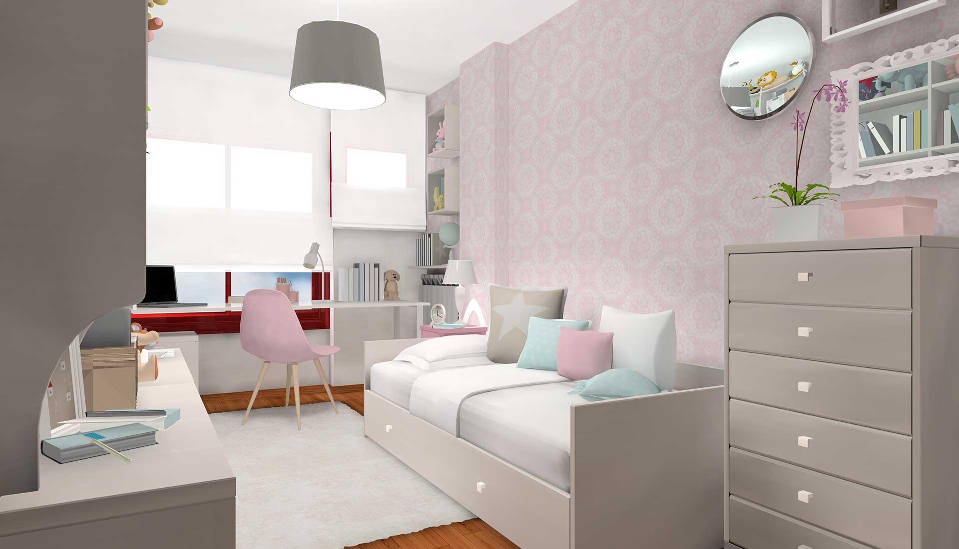 decoracion de interiores la moraleja cama-nido