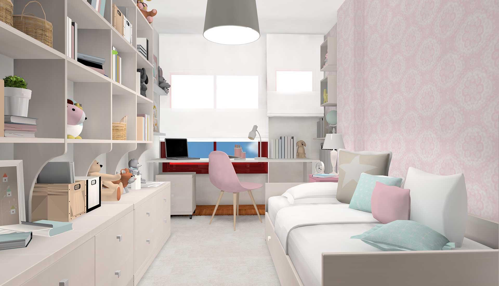 decoracion de interiores la moraleja cama