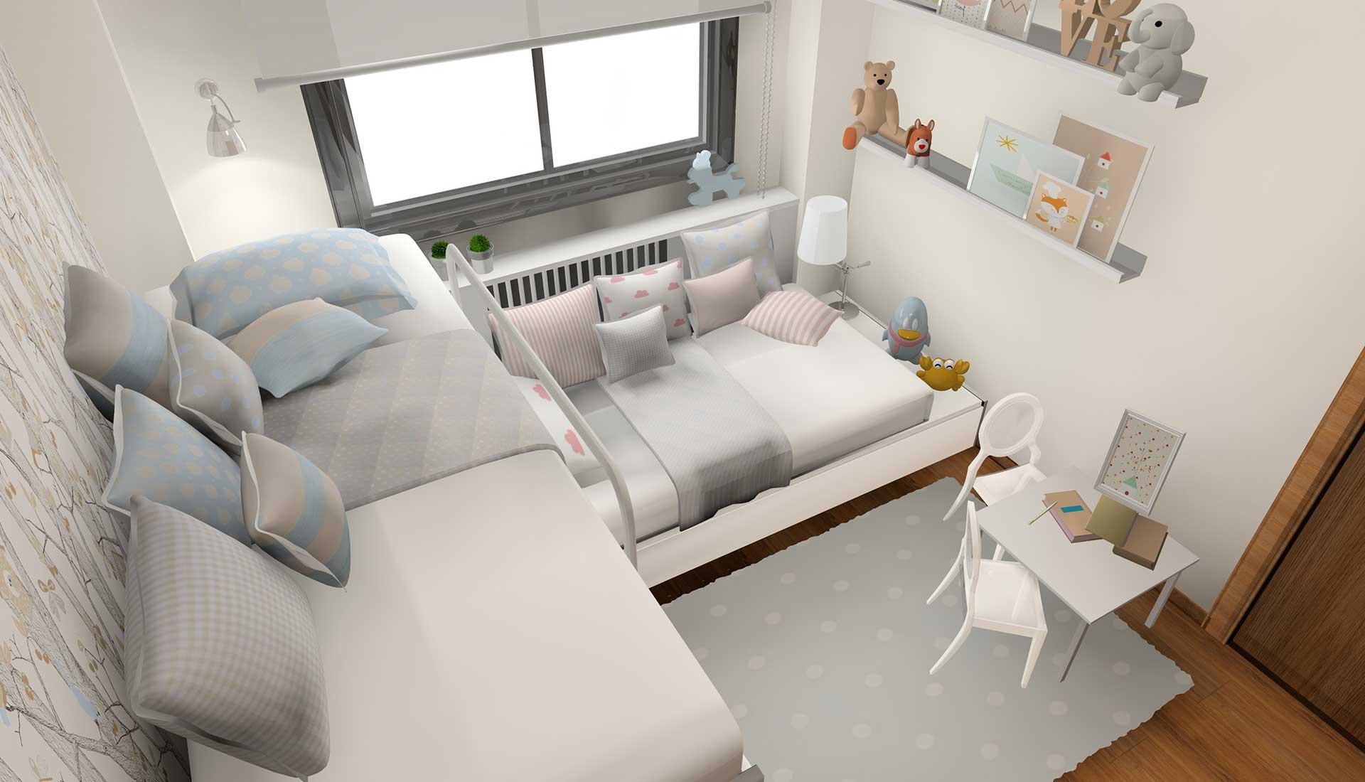 decoracion de interiores litera san rafael habitacion