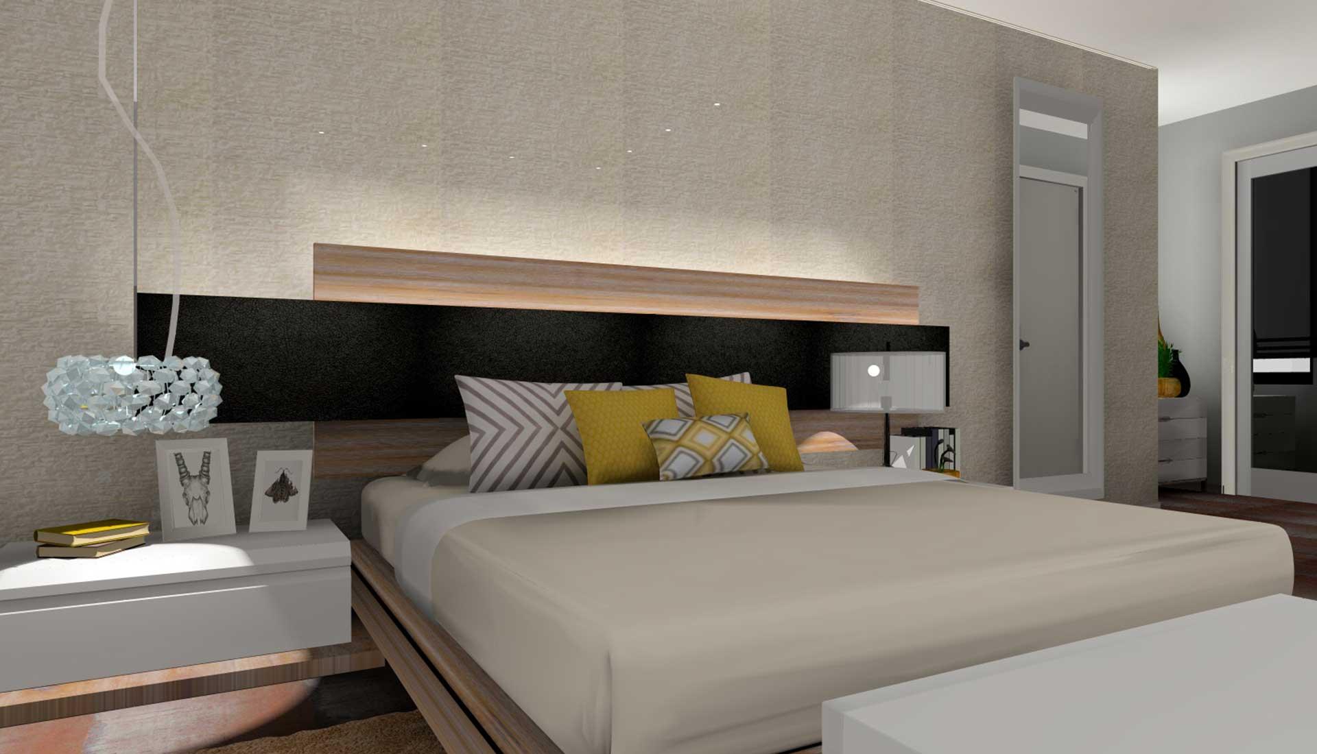 decoracion de interiores las rozas dormitorio