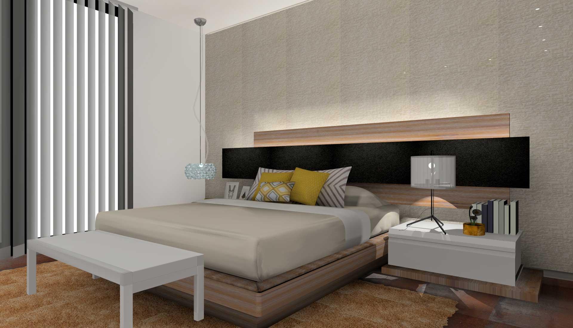 decoracion de interiores las rozas habitacion