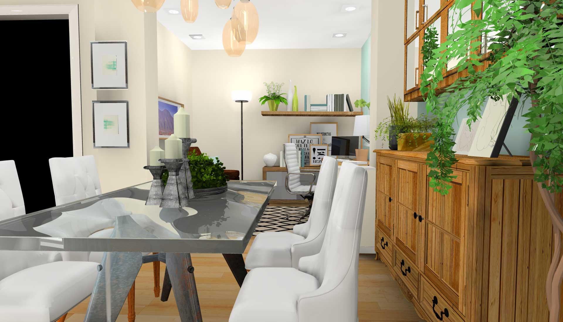 Decoracion de Interiores las tablas comedor