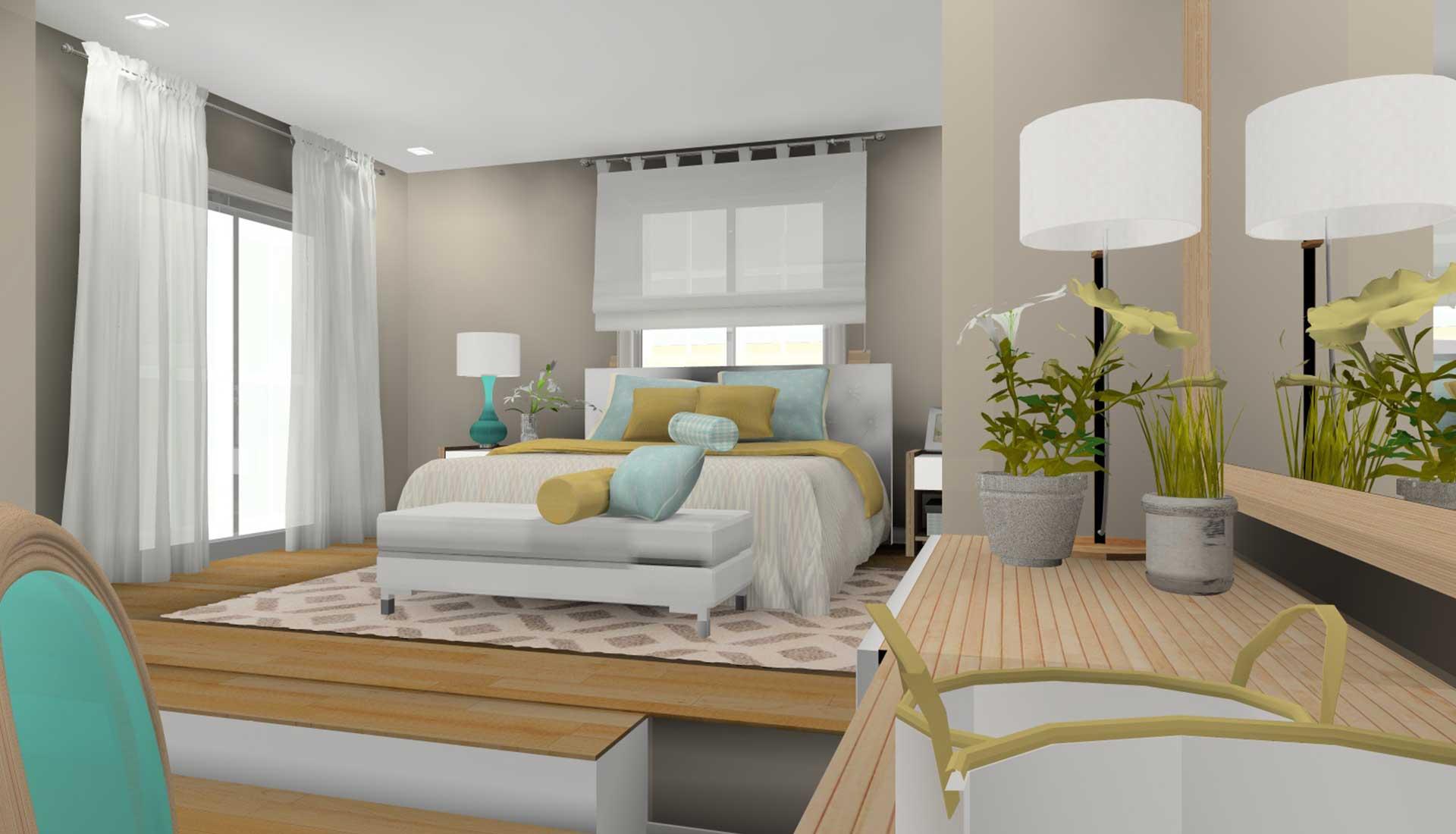 Decoracion de Interiores las tablas dormitorio