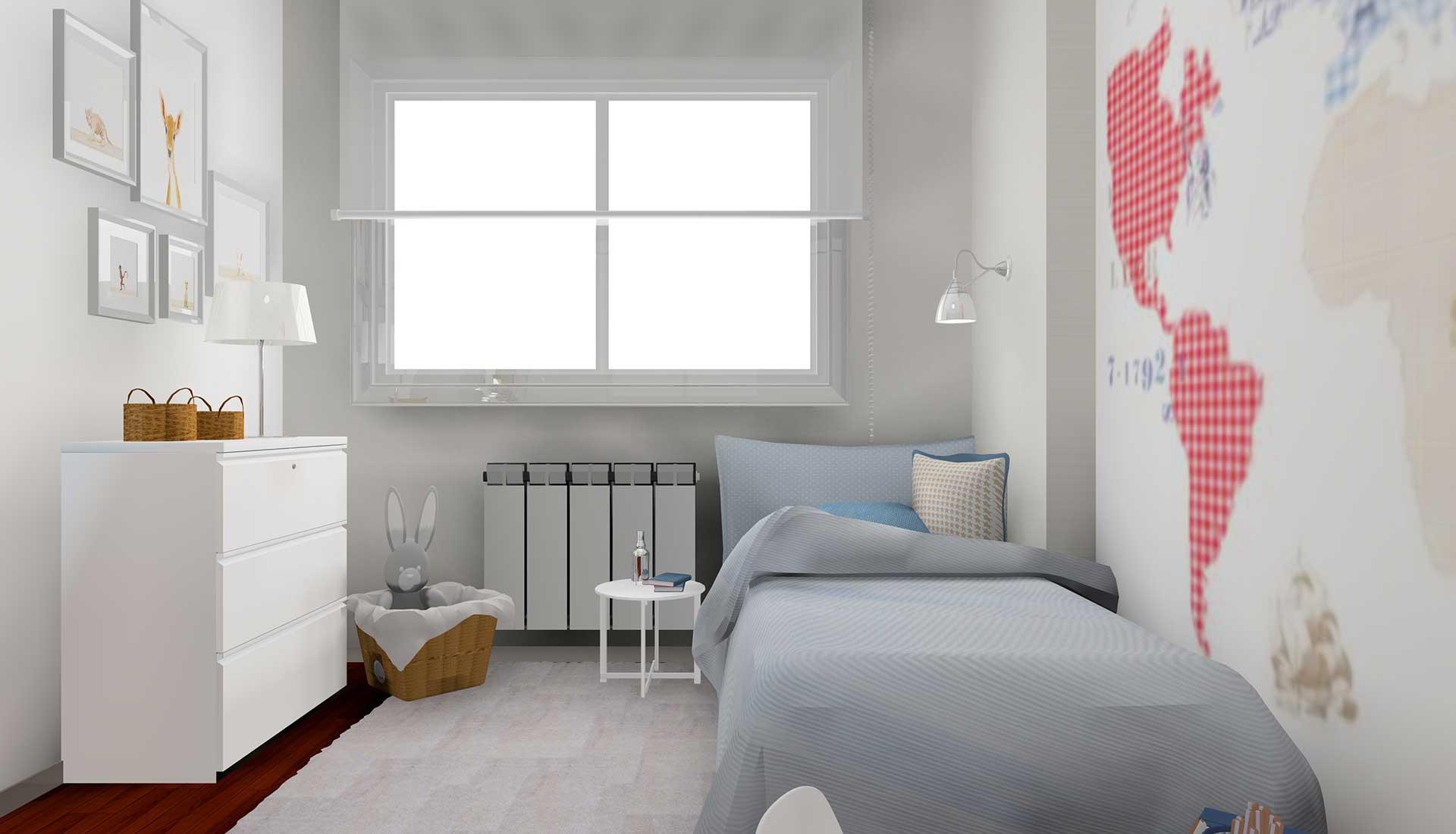 Decoracion de Interiores mirasierra cama