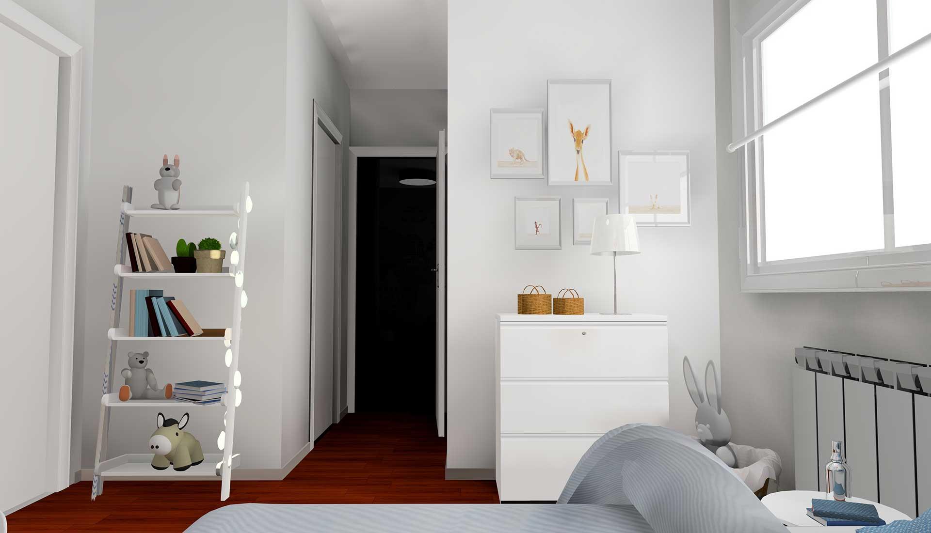 Decoracion de Interiores mirasierra dormitorio