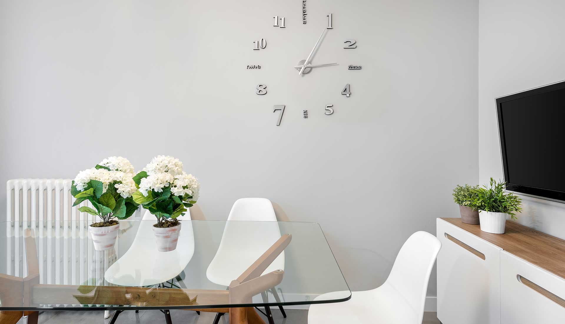 Decoracion de Interiores moncloa reloj