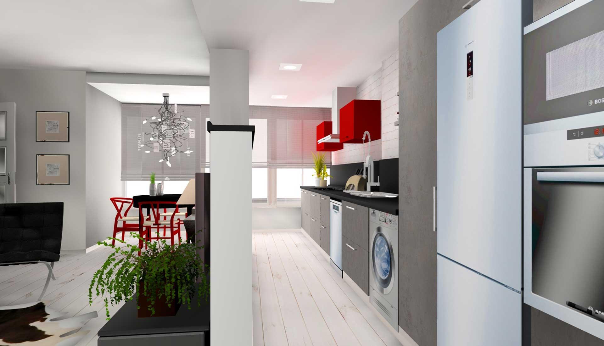 decoracion de interiores pozuelo cocina