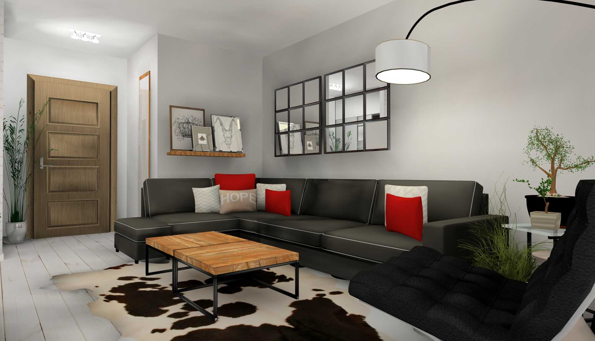 pdecoracion de interiores pozuelo sofa