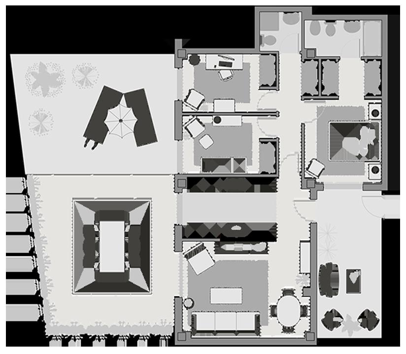 Decoracion de Interiores proceso plano