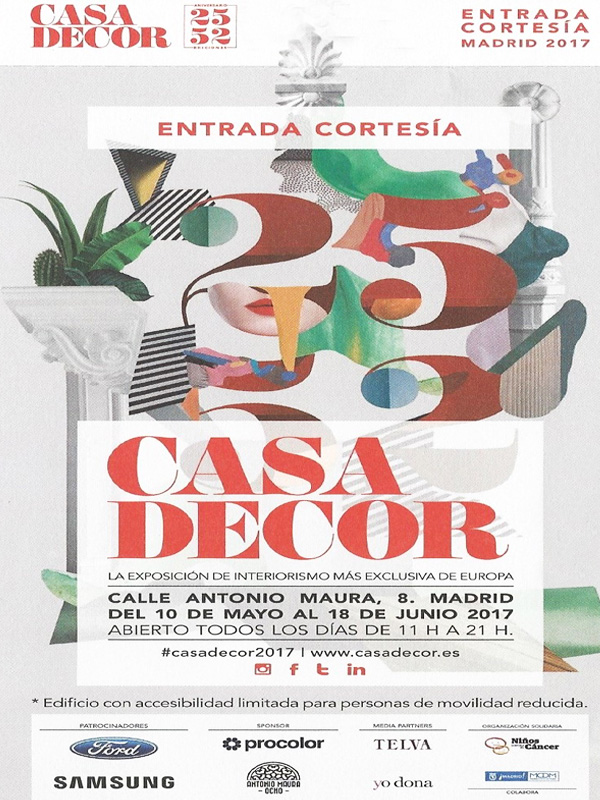 Casa Decor: Consigue tu entrada gratis.